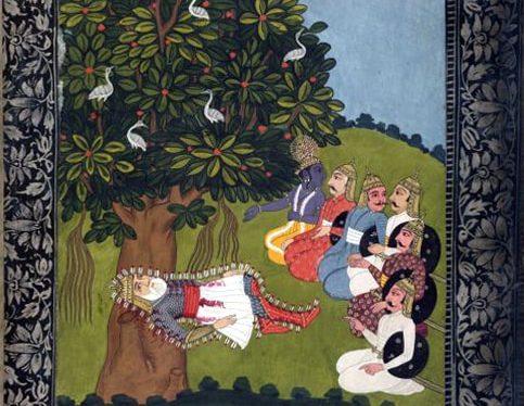 The Death of Bhisma