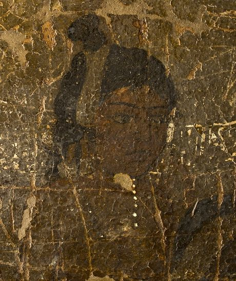 Striking ... the Ajanta cave murals. Photograph: Prasad Pawar
